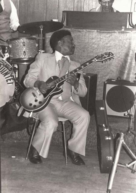 "Guitar Player at unidentified ""Wilson"" Jam"