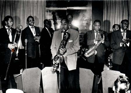 Unidentified eight musicians