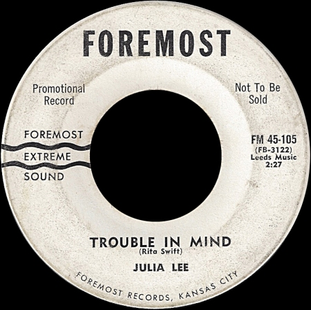 Foremost 105 TRouble